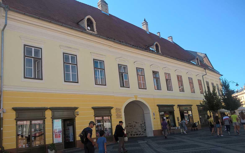 Clădire publică, Piața Mare, Sibiu